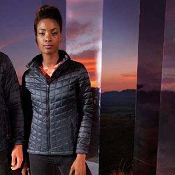 Tri Dri Kvinnor / damer Ultralight Thermo Quilt Jacket L Svart
