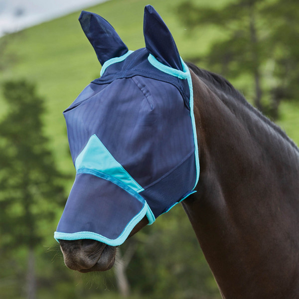 Weatherbeeta Comfitec Mask med öron och näsa hel marinblå /
