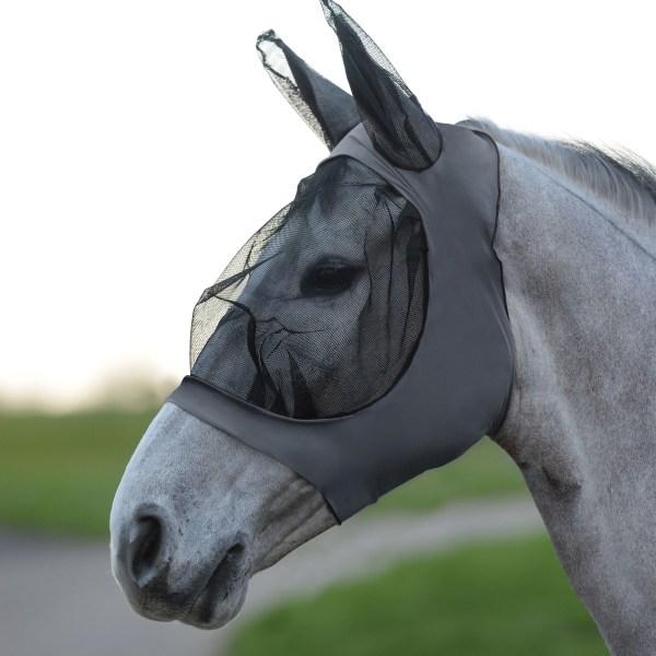 Weatherbeeta Stretch Eye Saver With Ears Cob Grey / Black