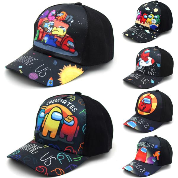 Among Us Kids Baseball Cap _ Justerbar utomhushatt för hatt _ Bl D