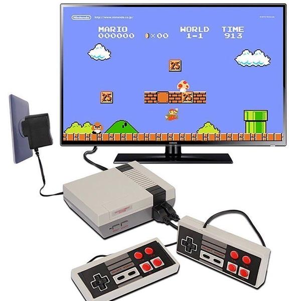 Klassisk mini 620 NES retro-spelkonsol med inbyggda hemspel