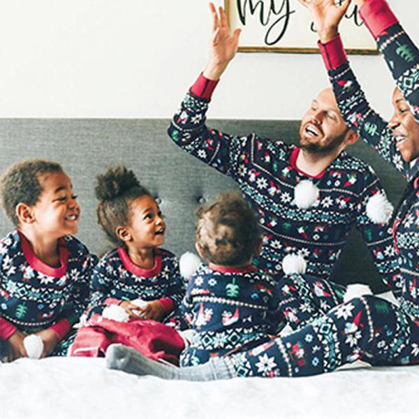 Familj matchande set Julpyjamas Julpyjamas child 14T