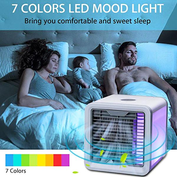Pot it _ Home Mini LED 7-färgs ljus luftkonditionering _ Pot it