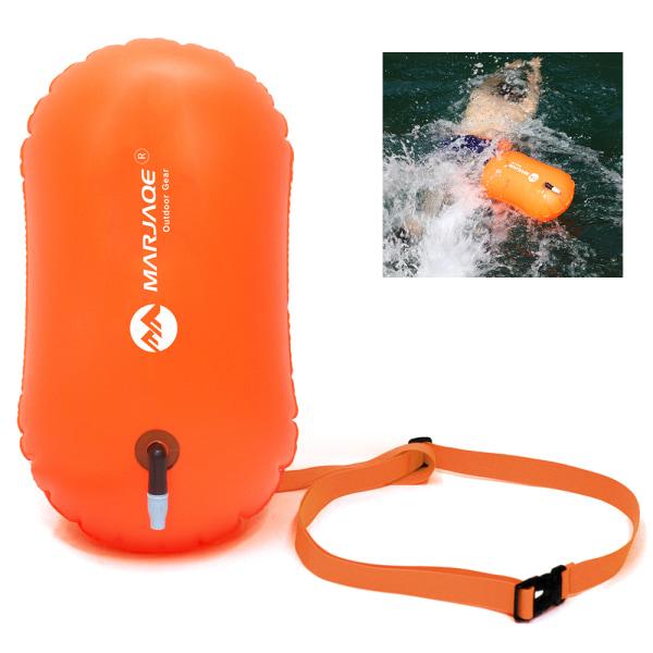 Uppblåsbara sportboj med öppet vatten Orange