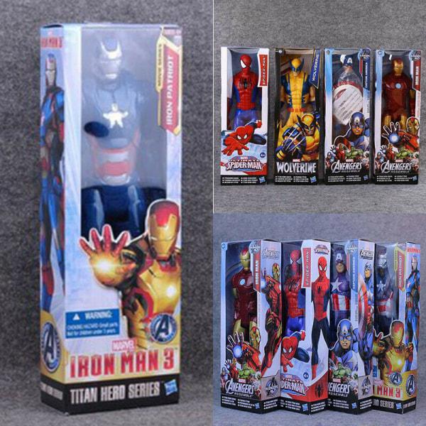 Spiderman Captain America Actionfigur Toy Launcher-handskar 3# The Hulk