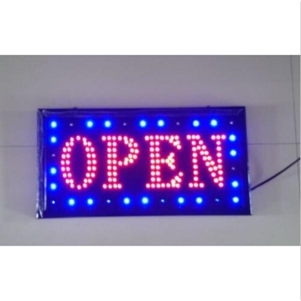 Neon LED-animeringsskylt