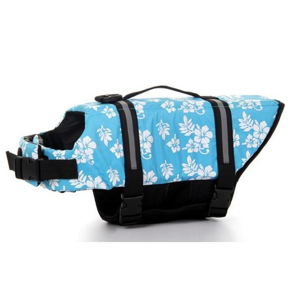 Flytväst för hundar säkrare väst badjacka flytväst M