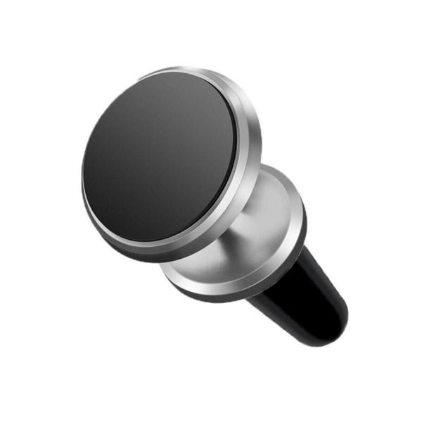 Magnetisk telefonholder, superstærk magnetmontering 360 ° Silver