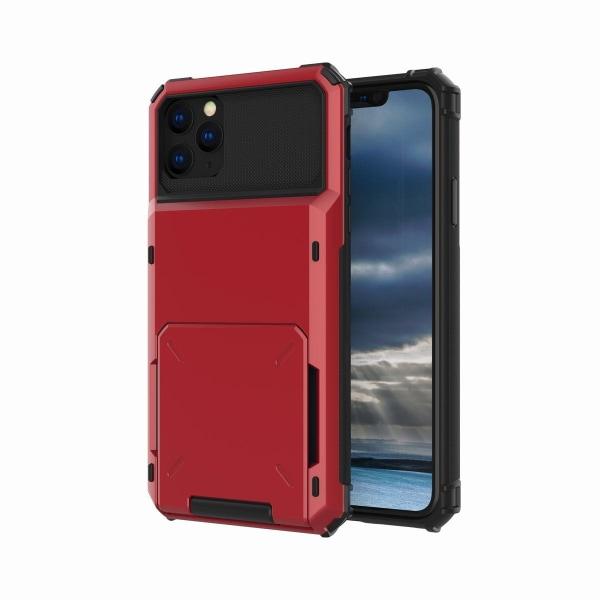 Iskunkestävä, kestävä case Cover Pro Maxille Red