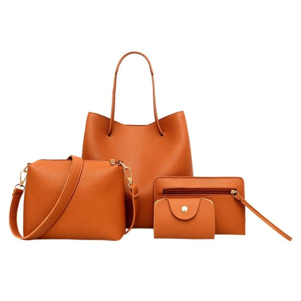 Väska 4 i 1 set  Svart one size