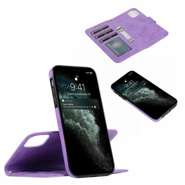 Suede magneettikotelo iPhone 11 Pro Max magneettilukolle. Black one size