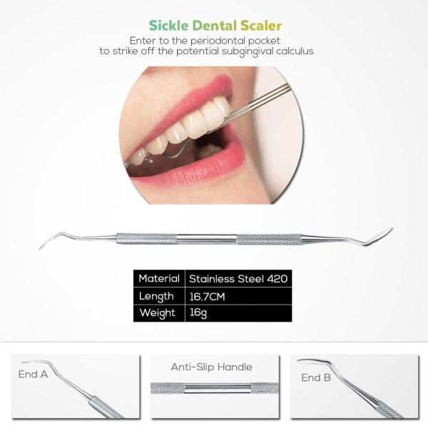 Oral Hygiene Set Silver one size
