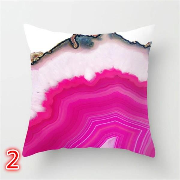 """18 * 18 """"blommigt kuddfodral soffa fyrkantigt kuddfodral säng dekor multicolor 14"""