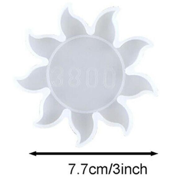 Moon Star Sun Mold Silikonform DIY Handgjord hängande mögel Sun