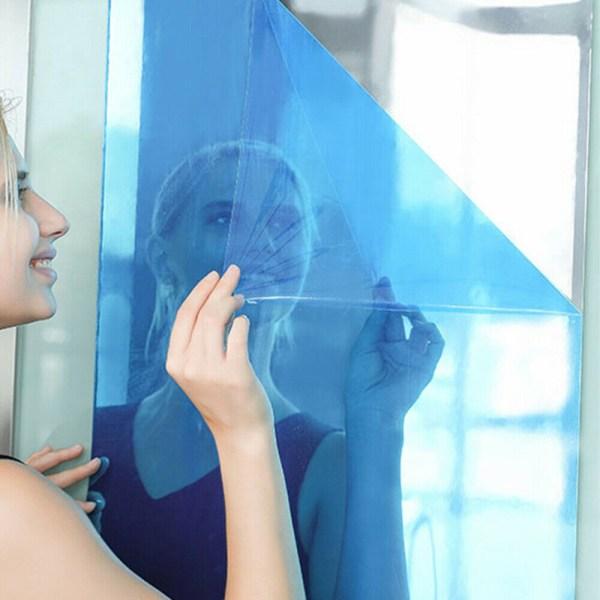 4 storlekar spegel vägg klistermärke rulle självhäftande dekor badrum As Shown 50*150cm