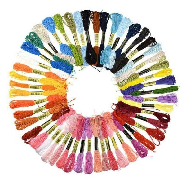50 sömnadsverktyg för korsstygn i färg 55pcs