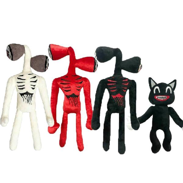 Cartoon Horror Black Cat plysch fyllda dockor gåva Black Cat
