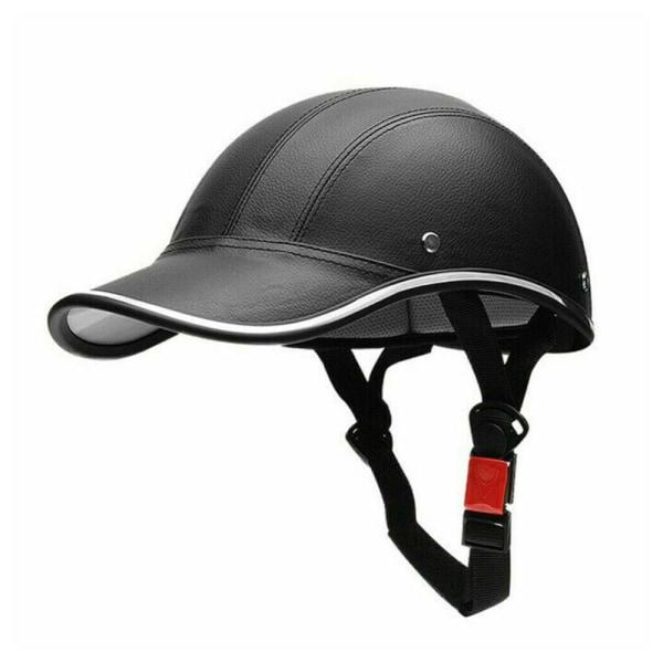 Vuxen cykelhjälm Justerbar säkerhet utomhus skyddshuvud black