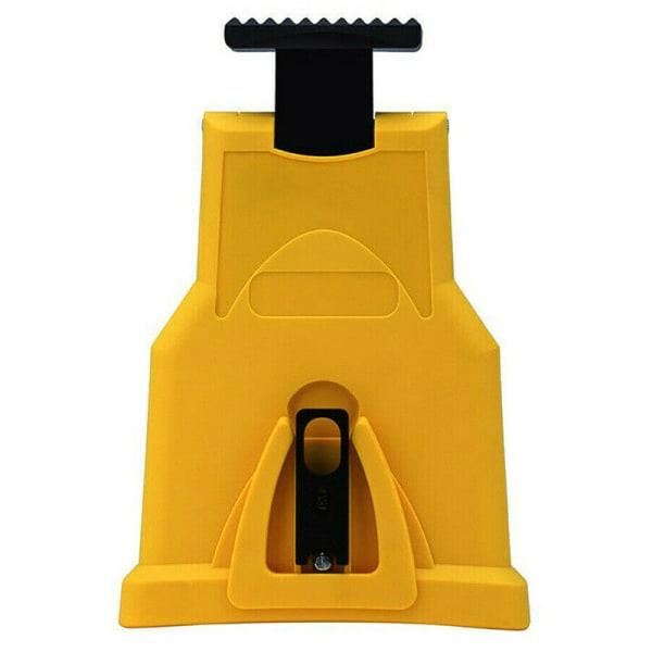 Motorsåg Kedjeslip gul med 3 slipstenar 1 chainsaw+3 grindstone