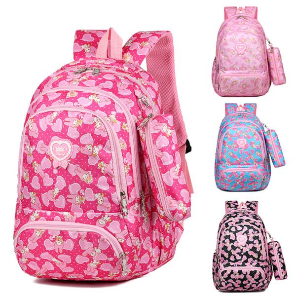 Barn skolväska ryggsäck ryggsäck Casual resväskor Pink