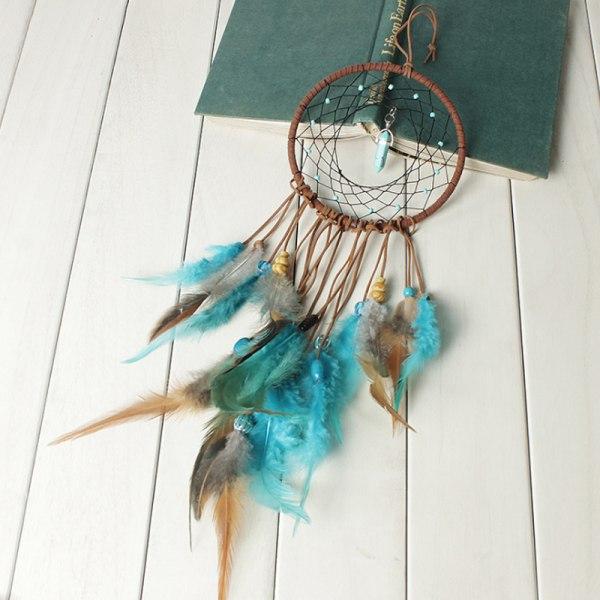 DreamCatcher Wind Chims Nightboms Home Hanging Decor Blue