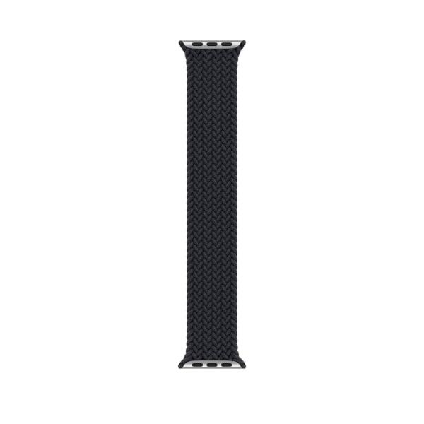 iWatch Apple Watch Vävt mjukt bandband SE 1-6 38-42MM Black M/42-44mm