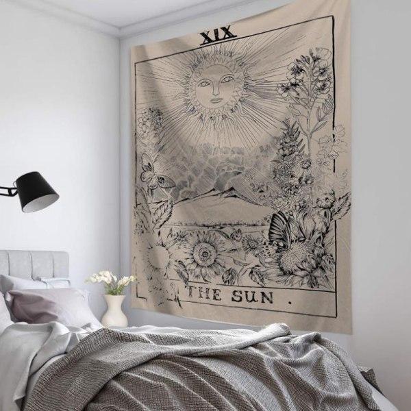 Vardagsrumsdekor Tarot-kort Vägghängande affisch Tapestry Hot C C 95*73CM