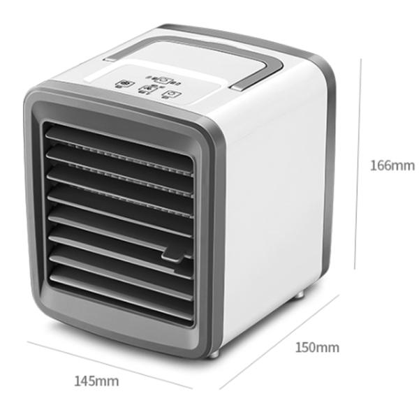 Luftkonditionering med låg ljudnivå / Luftkylare USB-luftfuktare Plug in