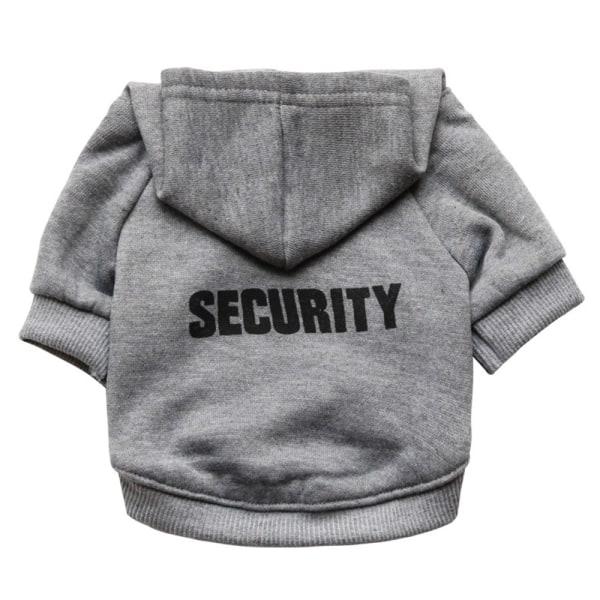 SECURITY Hundjacka Hoodie Kläder Kläder Liten Medium
