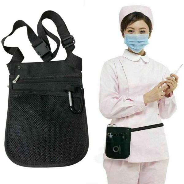 Sjuksköterska Väska Justerbar Bälte Bekväm Midjepåse Organizer