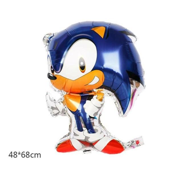 Sonic The Hedgehog Party Balloons Set Kid Birthday Balloon Decor