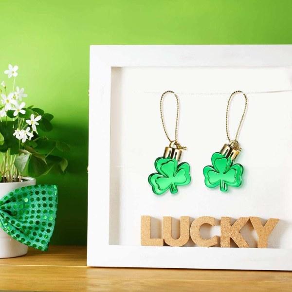 24st St Patrick's Day Good Luck Clover Table Festival Decor 24 Pcs