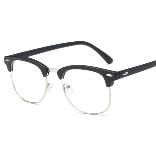 Unisex Blue Ljus Blocking Gaming Glasses Datorglasögon Black 1pair