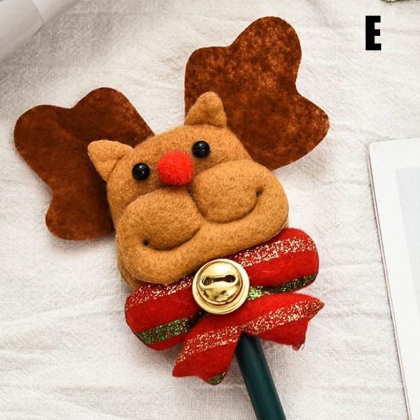 Tecknad jultomtepenna barnens julklappar Snögubbe C H