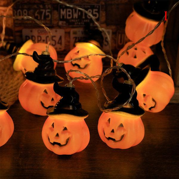 3 meter*20 LED Halloween Pumpkin Bat Skull String Light Home P I 3m 20 light