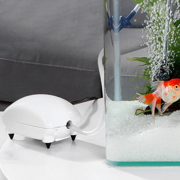 akvarium luftpump mini tyst syre pump akvarium akvarium ac EU Plug