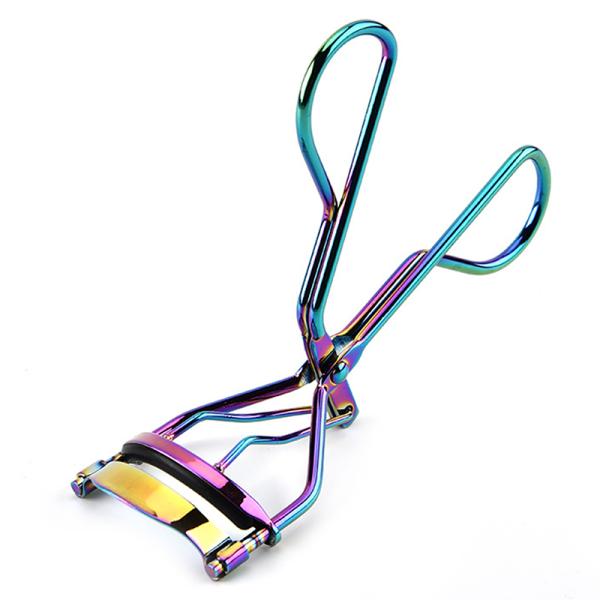 färg ögonfrans curler ögonfransar curling klipp ögonfrans smink verktyg onesize