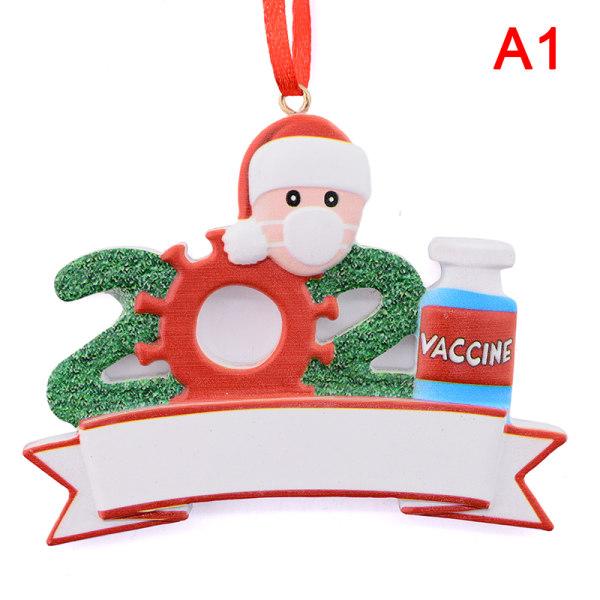 2021 Julhälsningar Festdekorationsgåva Jultomten Wi A1