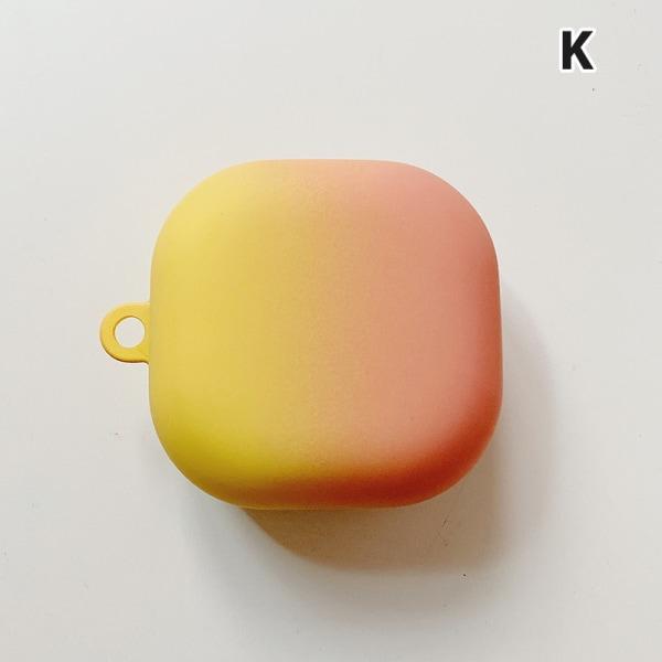 För Galaxy Buds Live Hard Case Skyddande Candy Color hörlurar K