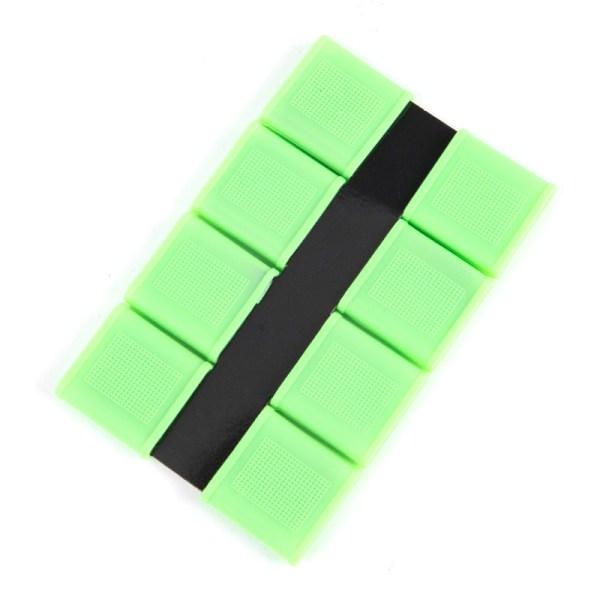 Sport Halkskyddande silikongolfhandtag Sport Fitness Unisex Green