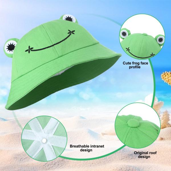 groda hink hattar groda form sommar fiskare hattar breda randen fro
