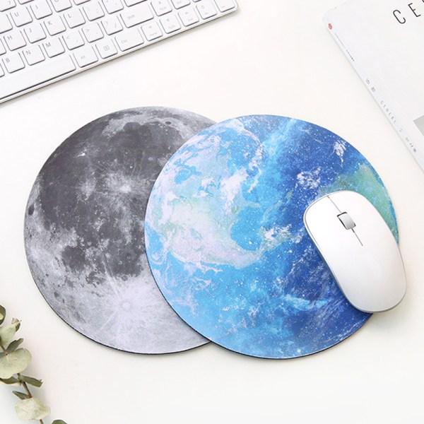 kawaii rund himmelsk musmatta mjuk matta för speldatorkåpa C