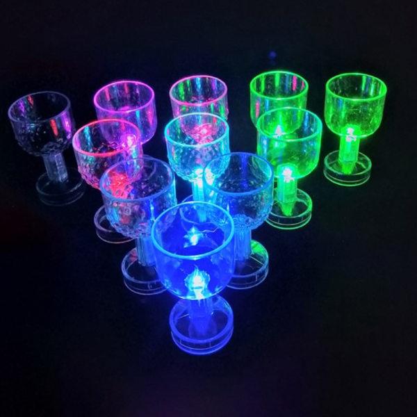 LED-blinkande färgbyte Vattenaktiverad tänd ölwhisky 5 One Size