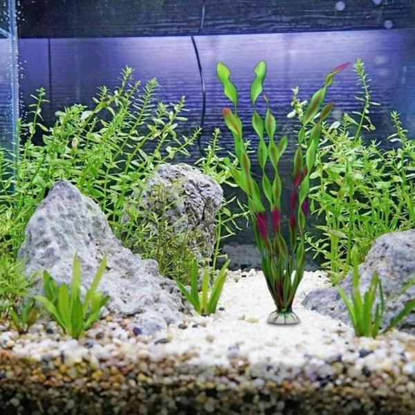 Konstgjord akvariumväxt Undervattensgräs Fish Tank Landscap