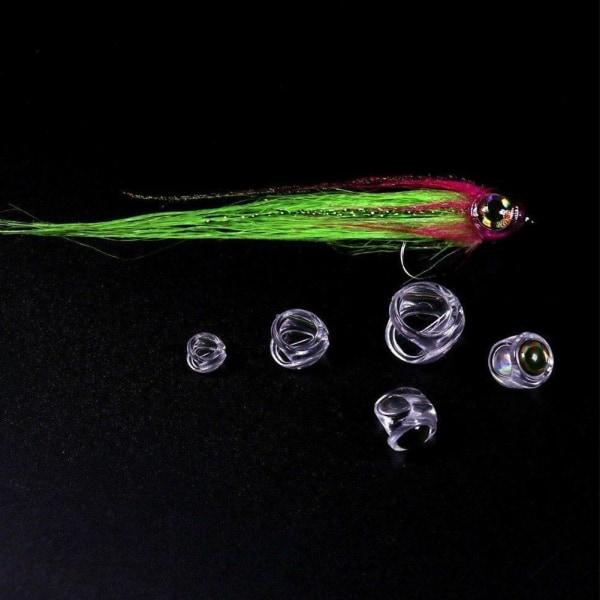 Fiskhuvud för streamerflugor Flugfiske lock Flugbindning Ma