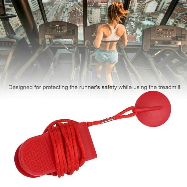 Magnetisk löpband Fitness Running Machine Security Key Safety S