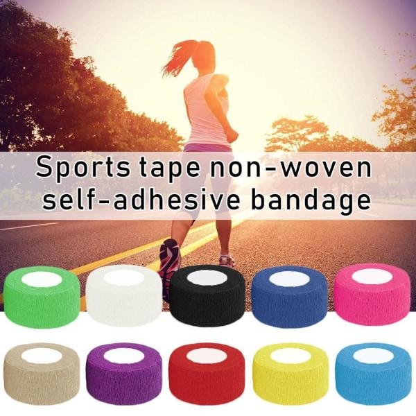 Bärbara sportbandstillbehör för färgbandage