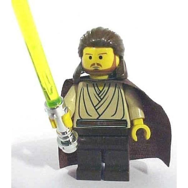 Lego Figurer Star Wars Qui Gon Jinn Klassisk LF50-18