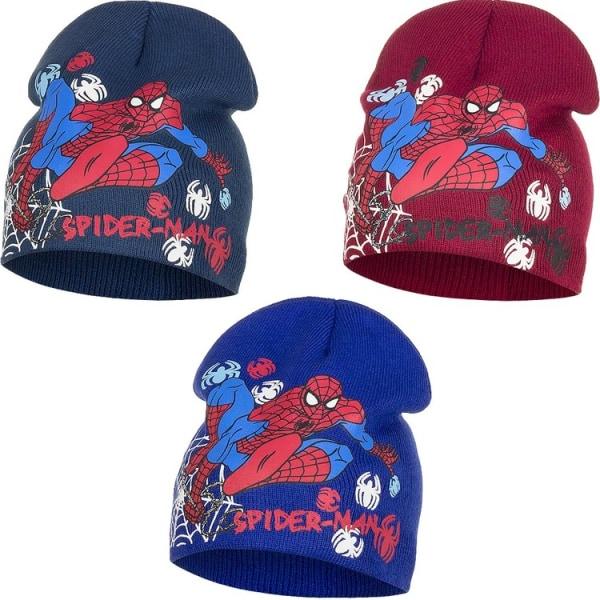 ZTR Mössa Hat Disney Marvel Spiderman mössa 52 & 54cm VÄLJ 3. Röd 52