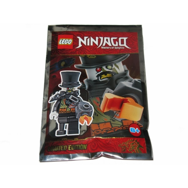 LEGO Ninjago Figur - iron baron 891948  Limited Edition  FP